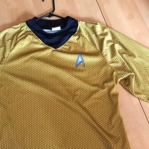 Star Trek Shirt Adult Mens Captain Kirk